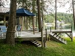 Spectacular Waterfront Vista, 10 Free watercraft, Fishing Mecca, 30% Off in Fall