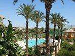 Resort centre pool