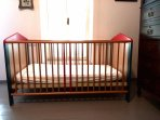 Baby cot available upon request