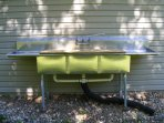 With all the lakes, rivers, and creeks nearby, this fish cleaning unit is a must
