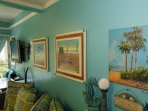This condo has lots of extra touches so that you KNOW you are in Maui!  I have infused it with ALOHA