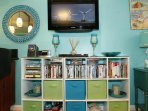 Playstation, Sharper Image Sound Soother, Boston Acoustic Stereo, 100+ DVDs, Maui Books, Fun Games!