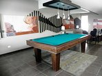 lounge are with billiard table
