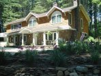3000 Sq. Ft. Custom built home - hundreds of pine trees and sprawling gardens surrounding the house