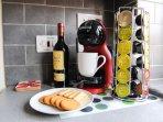 Coffee machine to make your favourite Latte/Cappucchino!