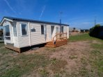 Outside view of mobile home