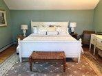 Bedroom 2: Master king bedroom.
