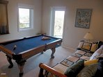 Game room with twin and trundle beds