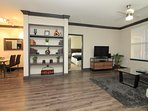 Midtown apt. - Spacious 2-bedroom, 2-bathroom with 2 king beds, pull-out queen sofa bed