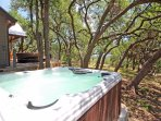 New Large Hot Tub - Soak Up Wimberley in Style!