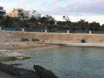 St Thomas Bay a secluded sandy beach 3 km away