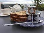 Enjoy an al fresco breakfast