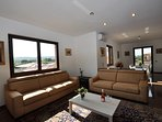 Sofa's in living room