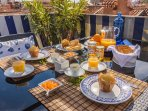 here you can have Truly Venetian open air breakfast or romantic candle light dinner