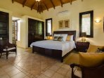 Private suite Bali, King bed, built in wardrobes. Very spacious. Ground floor.