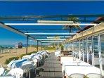 Beach restaurants with local specialties