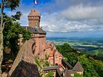Castle Haut-Koenigsbourg, a must visit, only 20 minutes drive away.