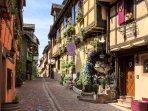 Riquewihr, our village on the Alsace wine route.