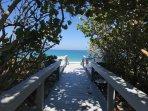 Best beach access!