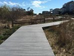 Trex walkway to the beach!