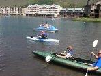 Summer on Keystone Lake
