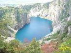 Modro jezero (Blue lake), Imotski 41 km