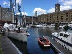 Nearby St Katherine's dock