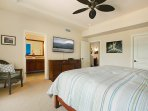 Master Bedroom with King Bed and en suite