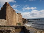 Castle in Collioure