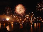 St Vincents Festival Fireworks