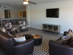 2nd Floor Family Room with Flat Screen TV.  Great Views the Colorado River!