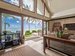 Welcome to the North Shore paradise! Views from most every room in this beach front home.