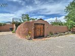 Soak up the crossroads of the Southwest in Old Town Albuquerque from this 1-bedroom, 1-bathroom vacation rental...