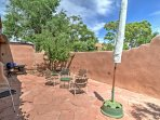 Sip a refreshing beverage outside on the patio and enjoy the warm, desert climate.