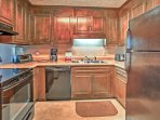 Make use of this fully equipped kitchen during your stay for home-cooked meals with the whole family.