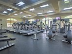 Enjoy access to this community fitness center!