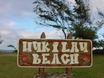 Hukilau Beach Park – Go swimming, surfing and body boarding in this beautiful beach  (less than 10-minute drive to Laie)