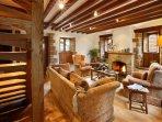 Cobnut living room. Comfortable, warm, yet solid.