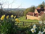 Springtime at Heath Farm Holiday Cottages.
