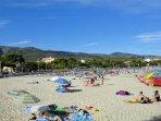 Beach 400m
