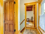 impeccable woodwork throughout