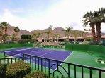 Full-Sized Tennis Court