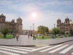 Plaza de armas de Cusco (a 70 minutos del condominio)