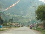Carretera principal del valle sagrado