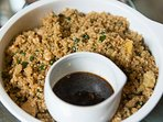 Especialidades de nuestra cocinera: Quinua Chaufa