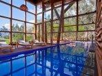 Spa del hotel Tambo del Inka Luxury Collection (a 15 minutos del condominio)