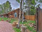 A memorable Rocky Mountain retreat awaits you at this serene Green Mountain Falls vacation rental cabin!