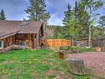 You'll simply fall in love with this cabin's rustic setting