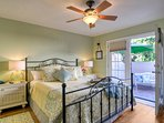 Master bedroom with comfy California King bed
