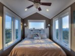 40 feet up. 16 windows. Master suite